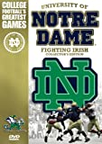 University of Notre Dame Fighting Irish - Collector's Edition (College Football's Greatest Games) at Amazon.com