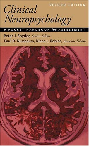 Clinical Neuropsychology: A Pocket Handbook For Assessment