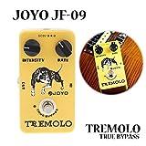Paleo Joyo JF-09 pedal de tremolo efecto guitarra con true bypass
