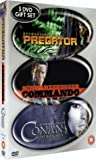 Predator/Commando/Conan The Barbarian [DVD] [1988]