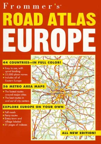 Frommer's Road Atlas Europe, AA Publishing