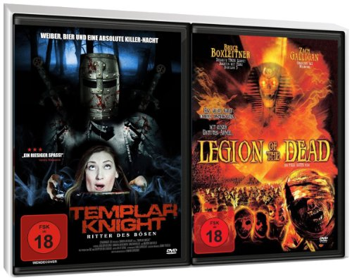 FSK 18 Spar-Set 3DVDs Horror : Templar Knight (2 DVD Edition) + Legion Of The Dead