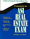 img - for Preparing for the Asi Real Estate Exam: A Guide to Successful Test Taking book / textbook / text book