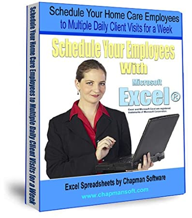 Schedule Your Home Care Employees to Multiple Daily Client Visits for a Week with Excel
