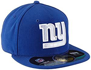 New Era NFL On Field New York Giants Adult Baseball Cap 59Fifty Fitted blue Team Size:6.875