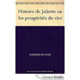 Histoire de Juliette ou les prosp�rit�s du vice