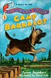 All-American Puppies #3: Camp Barkalot (0064408876) by Saunders, Susan