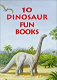 10 Dinosaur Fun Books: Stickers, Stencils, Tattoos. and More with Sticker and Cards and Bookmark and Tattoos and Stencils (0486403432) by Dover