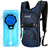 Hydration Pack With 2L BPA Free Water Bladder. Sleek And Compact With Good Storage Volume. O.ZONE EDGE Hydration...