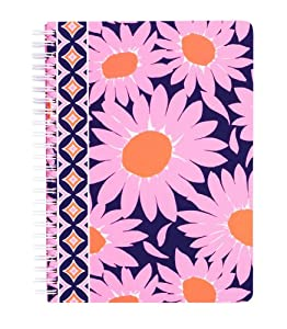 Vera Bradley Mini Notebook with Pocket in Loves Me