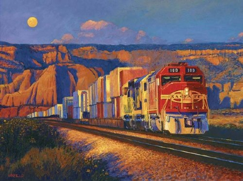 Picture of Sunsout New Mexico Moon Jigsaw Puzzle (B0043Z941O) (Jigsaw Puzzles)