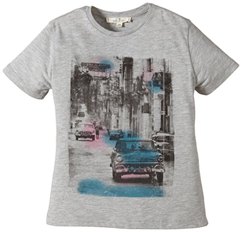 LTB Jeans Jungen T-Shirt IROBOS T/S, Gr. 176 (Herstellergröße: 15-16 Jahre), Mehrfarbig (GREY MEL 203)