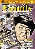 Family Classics 4-Movie Pack - Son of Monte Cristo, Captain Kidd, Long John Silver's Return to Treasure Island, Scarlet Letter