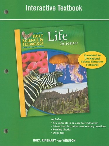 Holt Science & Technology: Interactive Textbook Life Science (Hs Earth Science compare prices)