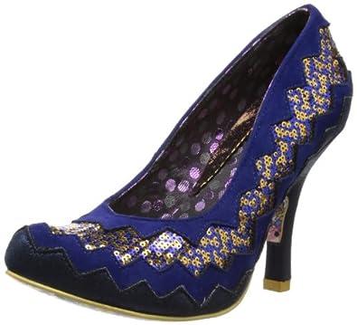 Irregular Choice Womens Classy Kate Court Shoes 2947-36 Blue 3.5 UK, 36 EU