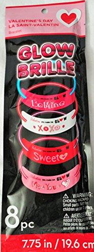 Valentine's Day Glow Bracelets - 1