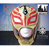 WWE Series 5 Rey Mysterio Kid Size Replica Gold and Red Mask