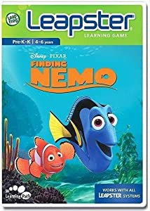 LeapFrog Leapster Learning Game Finding Nemo