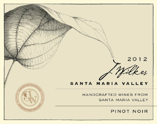 2012 J Wilkes Pinot Noir