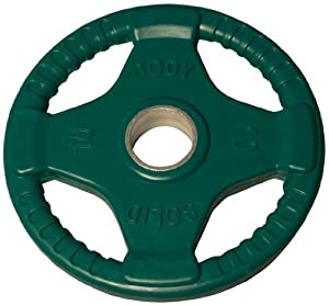 Amazon Com Body Solid Colored Rubber Grip Olympic Plates