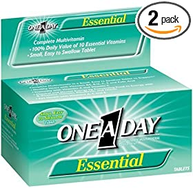 One-A-Day Essential Multivitamin/Mineral Tablets