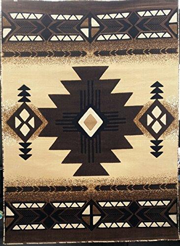 Southwest Native American Area Rug Berber Design #C318 (8ft.x10ft.)
