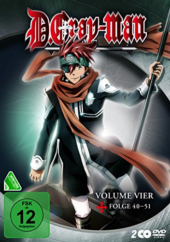 D. Gray-Man, DVD - Volume 4