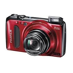 Fujifilm FinePix F500 Digital Camera – Red (16MP, 15x Optical Zoom) 3 inch LCD best buy