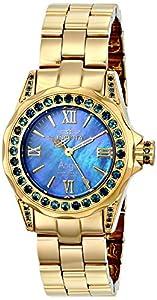Invicta Women's 15055 Angel Analog Display Swiss Quartz Gold Watch