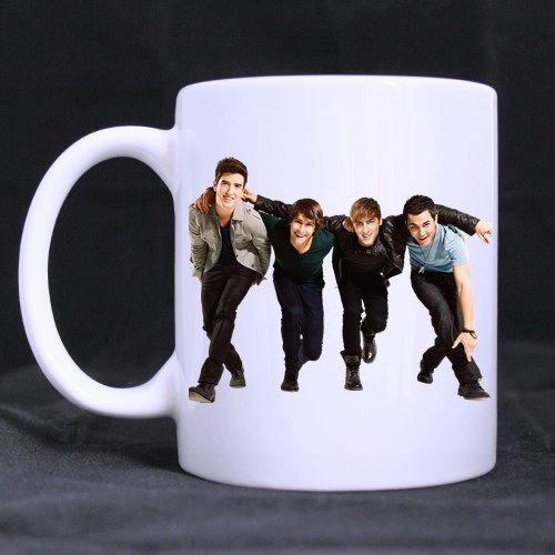 CozyHome big time rush live Custom White Mug tea Coffee cup (Big Time Rush Mug compare prices)