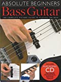 Absolute Beginners Bass Guitar – Book and CD Package – TAB