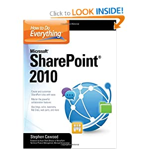How to Do Everything Microsoft SharePoint.