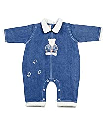 Tillu Pillu Unisex Body Suit (KDC_5_Blue_6-12 Months)
