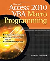 Microsoft Access 2010 VBA Macro Programming ebook download