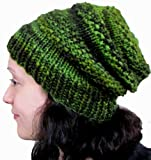 Peat Moss Beanie Knitting Pattern