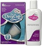 Diva Cup Model 2 DivaCup Menstrual Solution AND DivaWash
