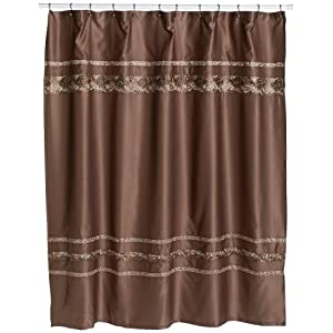 Croscill Mosaic Embroidered Shower Curtain