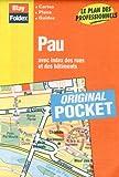 echange, troc Plans Blay Foldex - Plan de ville : Pau (avec un index)
