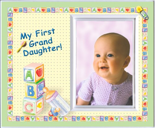 My First Granddaughter Picture Frame Gift - 1