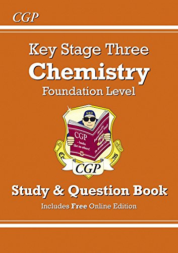 KS3 Chemistry Study & Question Book (with Online Edition) - Foundation