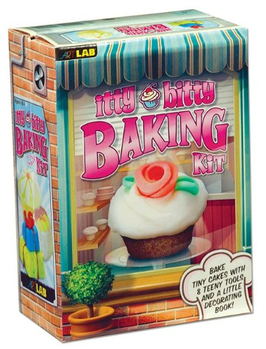 Itty Bitty Baking Kit [With Cupcake Pan, Froster, Shape Cutters, Spreader]