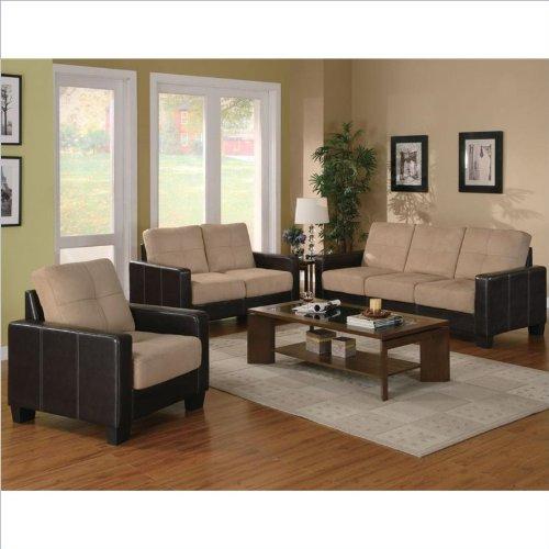 Coaster Regatta 3 Piece Living Room Set image