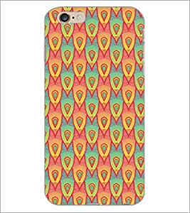 PrintDhaba Pattern D-5243 Back Case Cover for APPLE IPHONE 6 PLUS (Multi-Coloured)