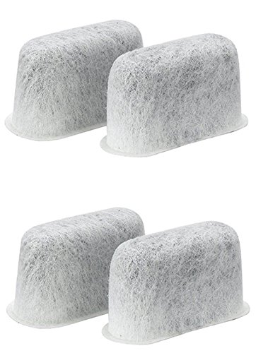 4 PACK Breville Replacement Charcoal WaterFilters BWF100 Single Cup Brewer White