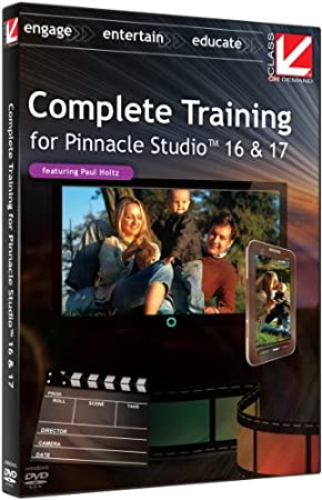 Class on Demand: Complete Training for Pinnacle Studio 16 and 17 Educational Training Tutorial with Paul Holtz 1