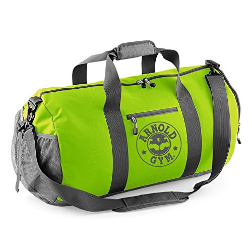 arnold-gym-athletic-bodybuilding-fitness-sport-multi-pack-lime-green-grey-gym-barrel-bag