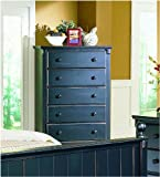 Pottery Chest in Black Sand Through by Homelegance