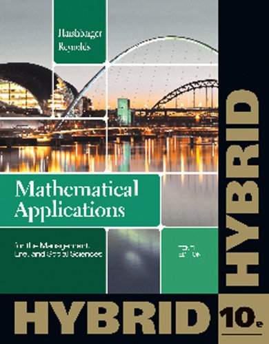 Mathematical Applications for the Management, Life, and Social Sciences, Hybrid (with Enhanced WebAssign with eBook LOE