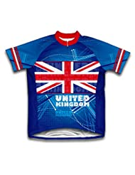 United Kingdom Short Sleeve Cycling Jersey for Women