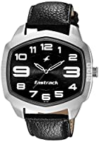 Fastrack Analog Black Dial Men's Watch - 3119SL03